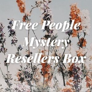 Free People Mystery Resellers Box 3-5 Piece